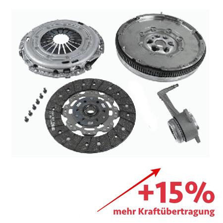 Verstärkte Kupplung (KIT+ZMS) - ca. 15% mehr Kraftübertragung - 2290601017-1861V