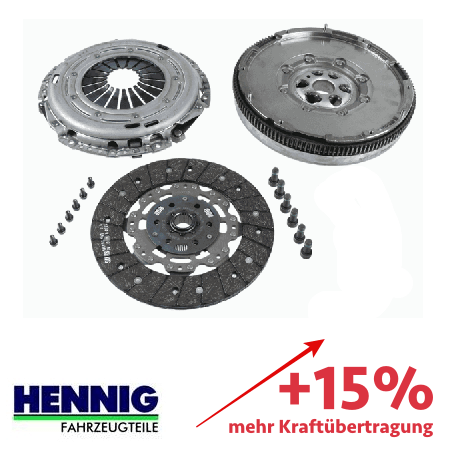Verstärkte Kupplung (KIT+ZMS) - ca. 15% mehr Kraftübertragung 2289000299
